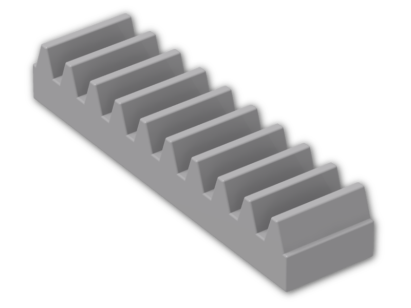 Gear Rack 1 x 4 lot of 4 combine shipping to save LEGO 3743 Technic