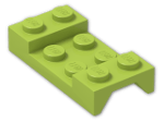 LEGO® Brick: Car Mudguard 2 x 4 (3788) | Color: Bright Yellowish Green