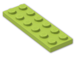 LEGO® Brick: Plate 2 x 6 (3795) | Color: Bright Yellowish Green
