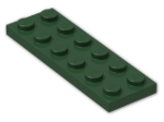 LEGO® Stein: Plate 2 x 6 (3795) | Farbe: Earth Green