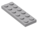 LEGO® Brick: Plate 2 x 6 (3795) | Color: Medium Stone Grey