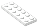 LEGO® Brick: Plate 2 x 6 (3795) | Color: White