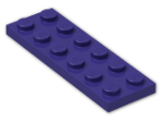 LEGO® Brick: Plate 2 x 6 (3795) | Color: Medium Lilac