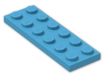 LEGO® Brick: Plate 2 x 6 (3795) | Color: Dark Azur