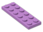 LEGO® Brick: Plate 2 x 6 (3795) | Color: Medium Lavender