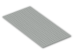 LEGO® Stein: Baseplate 16 x 32 with Square Corners (3857) | Farbe: Grey