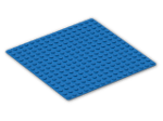 LEGO® Brick: Baseplate 16 x 16 (3867) | Color: Bright Blue