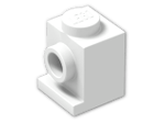 LEGO® Brick: Brick 1 x 1 with Headlight (4070) | Color: White
