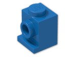 LEGO® Brick: Brick 1 x 1 with Headlight (4070) | Color: Bright Blue