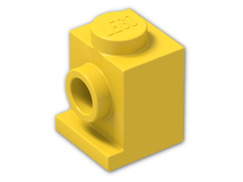 New LEGO Lot of 8 Yellow 1x1 Headlight Bricks