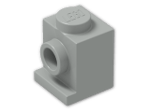 LEGO® Brick: Brick 1 x 1 with Headlight (4070) | Color: Grey