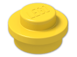 LEGO® Stein: Plate 1 x 1 Round (4073) | Farbe: Bright Yellow