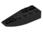 LEGO® Stein: Wedge 2 x 6 Double Inverted Right (41764) | Farbe: Black