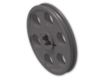 LEGO® Brick: Technic Wedge Belt Wheel (4185) | Color: Dark Stone Grey