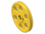 LEGO® Stein: Technic Wedge Belt Wheel (4185) | Farbe: Bright Yellow