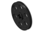 LEGO® Brick: Technic Wedge Belt Wheel (4185) | Color: Black