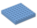 LEGO® Brick: Brick 8 x 8 (4201) | Color: Medium Blue