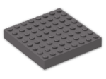 LEGO® Brick: Brick 8 x 8 (4201) | Color: Dark Stone Grey