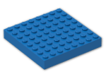 LEGO® Brick: Brick 8 x 8 (4201) | Color: Bright Blue