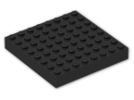 LEGO® Brick: Brick 8 x 8 (4201) | Color: Black