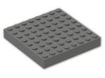 LEGO® Brick: Brick 8 x 8 (4201) | Color: Dark Grey