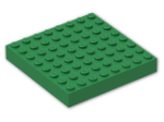 LEGO® Brick: Brick 8 x 8 (4201) | Color: Dark Green