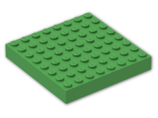 LEGO® Brick: Brick 8 x 8 (4201) | Color: Bright Green