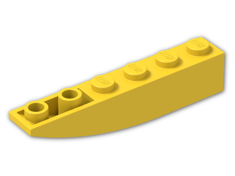 Lego Slope Inverted Curved 6x1 42023 Red x8
