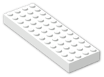 LEGO® Brick: Brick 4 x 12 (4202) | Color: White