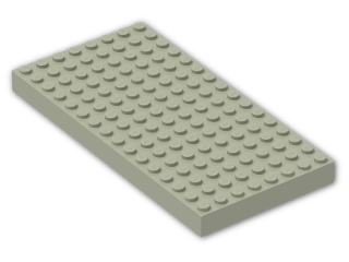 LEGO® Brick: Brick 8 x 16 (4204) | Color: Light Yellowish Green