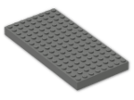 LEGO® Brick: Brick 8 x 16 (4204) | Color: Dark Grey