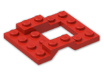 LEGO® Brick: Car Base 4 x 5 (4211) | Color: Bright Red