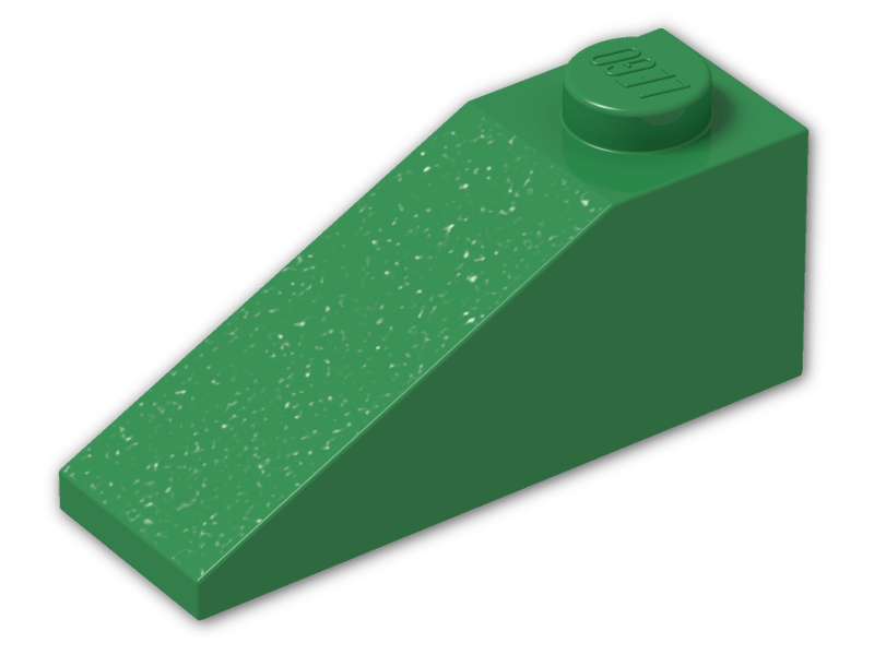 Lego 4286 x6 Slope 33 3 x 1 Green