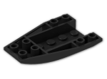 LEGO® Brick: Wedge 6 x 4 Triple Curved Inverted (43713) | Color: Black