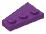 LEGO® Stein: Wing 2 x 3 Right (43722) | Farbe: Bright Violet