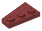 LEGO® Stein: Wing 2 x 3 Right (43722) | Farbe: New Dark Red