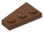 LEGO® Stein: Wing 2 x 3 Right (43722) | Farbe: Reddish Brown