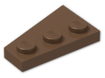 LEGO® Stein: Wing 2 x 3 Right (43722) | Farbe: Brown