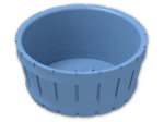LEGO® Stein: Barrel 4.5 x 4.5 (4424) | Farbe: Medium Blue
