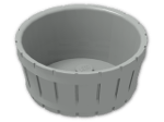 LEGO® Brick: Barrel 4.5 x 4.5 (4424) | Color: Grey