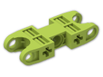 LEGO® Stein: Technic Ball Socket 5 x 2 Double Rounded (47296) | Farbe: Bright Yellowish Green