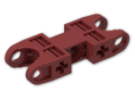 LEGO® Stein: Technic Ball Socket 5 x 2 Double Rounded (47296) | Farbe: New Dark Red