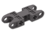 LEGO® Stein: Technic Ball Socket 5 x 2 Double Rounded (47296) | Farbe: Dark Stone Grey