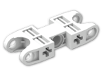 LEGO® Stein: Technic Ball Socket 5 x 2 Double Rounded (47296) | Farbe: White