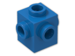 LEGO® Brick: Brick 1 x 1 with Studs on Four Sides (4733) | Color: Bright Blue