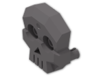 LEGO® Stein: Brick 4 x 3 x 1 with Skull Relief and Two Pins (47990) | Farbe: Dark Stone Grey