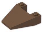 LEGO® Stein: Wedge 4 x 4 (4858) | Farbe: Brown