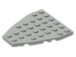 LEGO® Brick: Wing 7 x 6 with Stud Notches (50303) | Color: Grey
