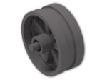 LEGO® Stein: Wheel 6 x 14 Spoked with Stub Axles (50862) | Farbe: Dark Stone Grey