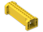 LEGO® Brick: Brick Hollow 4 x 12 x 3 with 8 Pegholes (52041) | Color: Bright Yellow